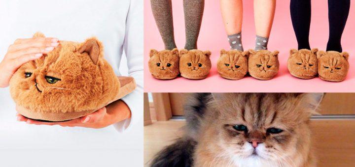 ไปไหนก็เหมือนมีแมวไปด้วย! เปิดตัวรองเท้าแตะรูปแมวที่มีหลากหลายอารมณ์ซะจนอดเอ็นดูไม่ได้!