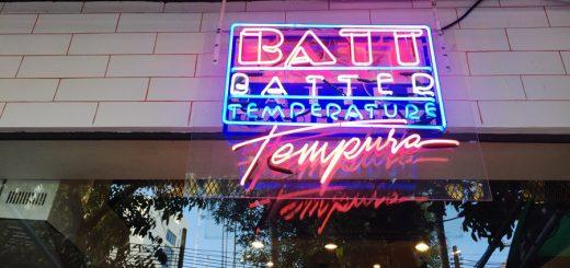 BATT - Batter Temperature Tempura เทมปุระสุดคูล ย่านเจริญกรุง