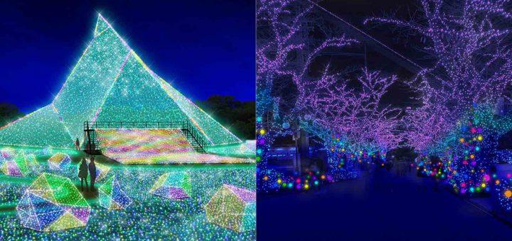 ไปชมไฟประดับดั่งกล่องเพชรพลอยไปกับ Jewellumination ที่สวนสนุก Yomiuri Land ถึง ก.พ. 2019