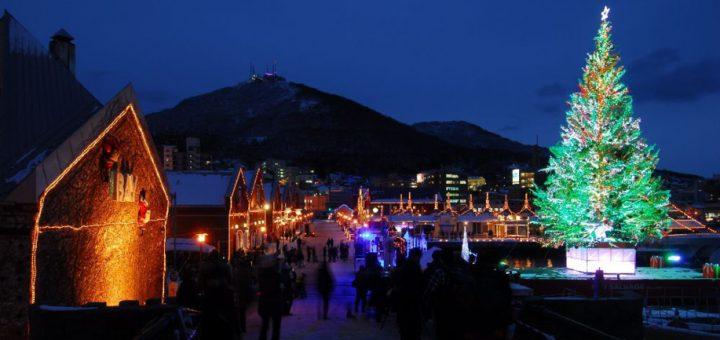 มหัศจรรย์คริสต์มาสฮาโกดาเตะ (Hakodate Christmas Fantasy) 1 ในอีเว้นต์ฤดูหนาวแสงสีเสียงแห่งฮอกไกโดที่นักท่องเที่ยวไม่ควรพลาด