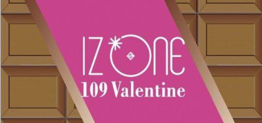 เปิดแคมเปญ IZ*ONE 109 Valentine x Shibuya109