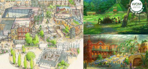 อดตื่นเต้นตามไม่ได้! Studio Ghibli เผยแผนผังให้เห็นชัด ๆ ไปเลยกับ 5 โซนในสวนสนุกที่จะเริ่มสร้างเสร็จในปี 2022!!