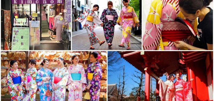 มาโตเกียวทั้งที ของต้องมีคือ กิโมโน ! แนะนำร้านเช่ากิโมโนดังรอบโตเกียว