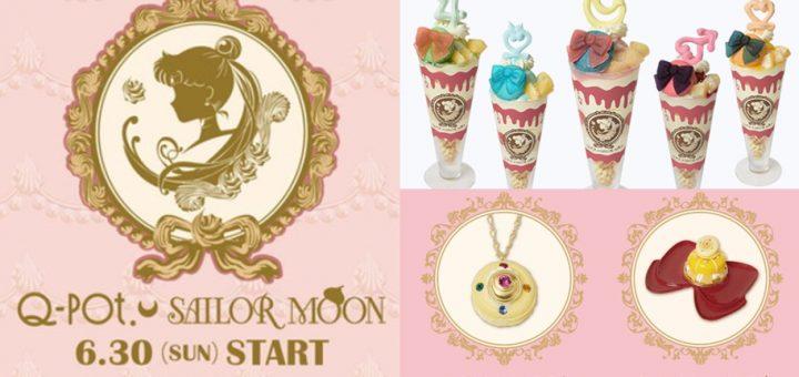 สาวกเซเลอร์มูนเตรียมกระเป๋าตังค์ให้พร้อมกับ Q-pot. × Sailor Moon limited Café
