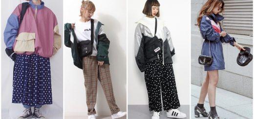 เก๋ไก๋ 80's ด้วยแจ็คเก็ตผ้าไนล่อน เทรนด์ฮิตตลอดกาลจากฝั่งญี่ปุ่น !