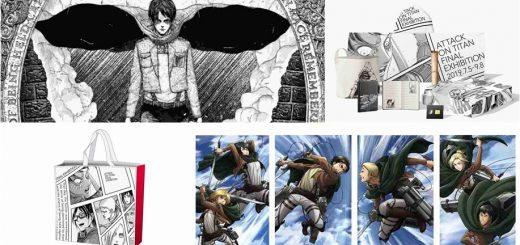 แฟน Attack on Titan ห้ามพลาด ! กับงาน Attack on Titan Exhibition FINAL ที่จะจัดขึ้นที่โตเกียวตั้งแต่เดือน ก.ค. ยาวไปจนถึง ก.ย. !!!