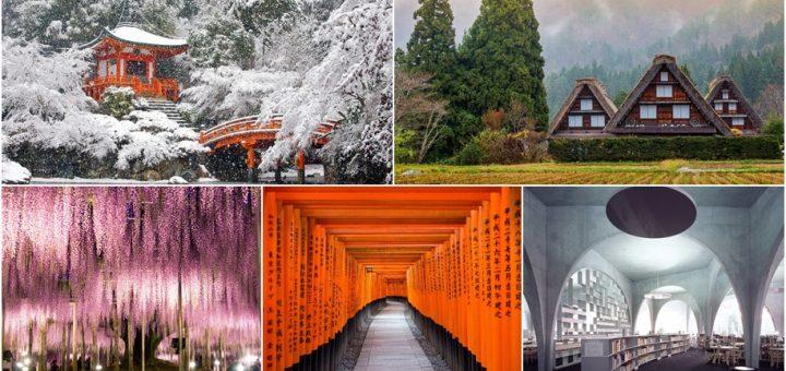 รวมภาพสถานที่ท่องเที่ยวในประเทศญี่ปุ่น ที่สวยชวนตะลึงราวกับเทพนิยาย