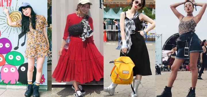 ส่องลุคเก๋ท้าแดดกับ Festival Style เหล่าฮิปสเตอร์แดนปลาดิบ