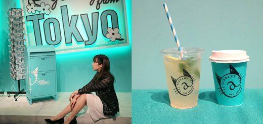 Tiffany Café คาเฟ่สีฟ้าสุดชิคเปิดแล้วที่ Cat Street Harajuku