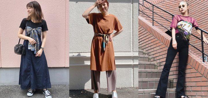 ไอเดียชิคครีเอทชุดใหม่ดีไซน์สวยด้วยผ้าพันคอเพียงผืน !