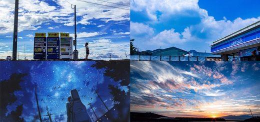 ช่างภาพคนนี้ ถ่ายรูปท้องฟ้าได้ราวกับหลุดออกมาจากโลกอนิเมะ