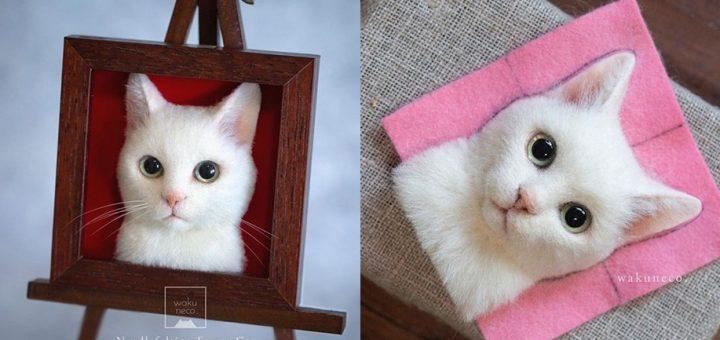 รูปเคารพศพแมว 3 มิติ เหมือนซะยิ่งกว่าตัวจริง ทางเลือกสำหรับทาสแมวที่อยากจดจำเจ้านายผู้ล่วงลับ