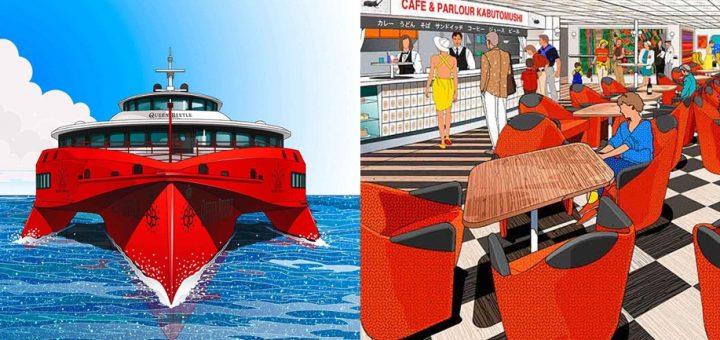 JR Kyushu กระชับความสัมพันธ์เกาหลี-ญี่ปุ่นด้วยการเปิดตัวเรือโดยสารลำใหม่ ระหว่างฮากาตะ-ปูซาน เตรียมให้บริการปี 2020
