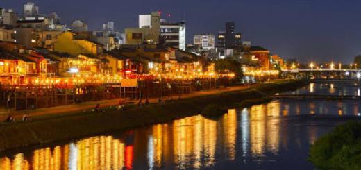 ทานอาหารรสเลิศกับชมวิวแม่น้ำคาโมะกาวะแบบเต็ม ๆ ตา ที่เกียวโต