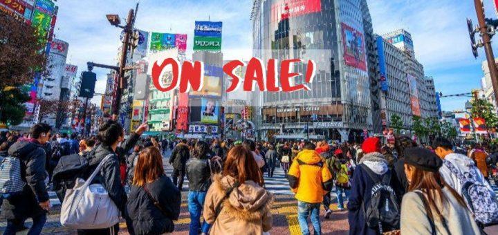 ขาช้อปถูกใจสิ่งนี้ แนะนำลายแทงช่วงเวลาและสถานที่จัดงาน Sale ประจำปีของญี่ปุ่น