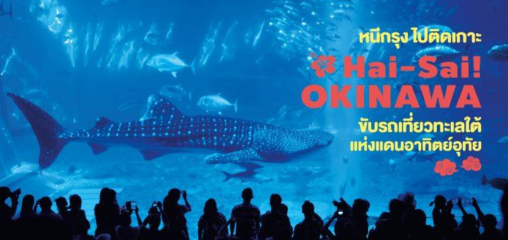 หนีกรุง ไปติดเกาะ Hai-Sai! Okinawa ขับรถเที่ยวทะเลใต้แห่งแดนอาทิตย์อุทัย