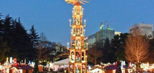 สูดอากาศหนาวท่ามกลางบรรยากาศคริสต์มาสที่ 4 Christmas Market ที่ดีที่สุดในแถบโตเกียว !