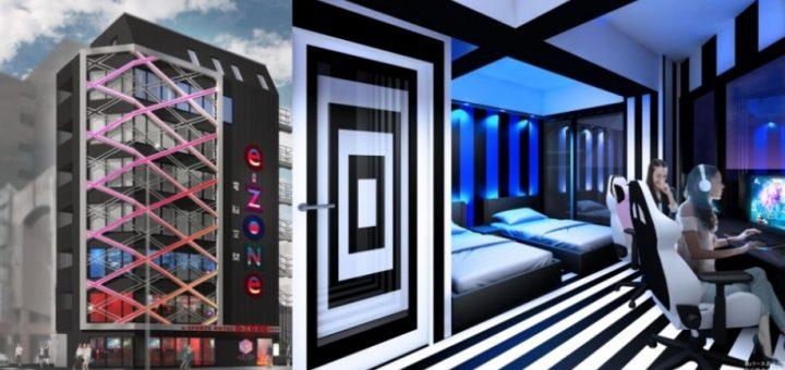 เปิดประสบการณ์ใหม่ของการพักผ่อนด้วยโรงแรม E-Sports เอาใจคนชอบเล่นเกมโดยเฉพาะ