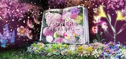 เพลิดเพลินไปกับดอกซากุระที่บานเร็วที่สุด ! FLOWERS BY NAKED 2020 -Sakura- งานศิลป์ดิจิตอลที่กรุงโตเกียว !!