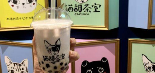 """พาชิมร้านชานมสุดคิ้วท์ของโอซาก้า """"Neko Tencha Shitsu CAPIOCA"""""""
