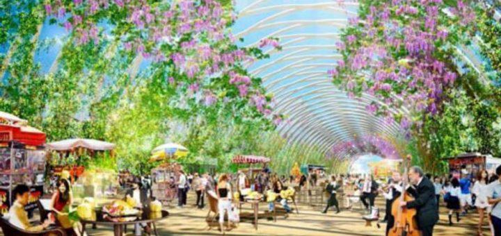 Miyashita Park กำลังจะแปลงโฉมเป็นสวนลอยฟ้าที่ใหญ่ที่สุดใน Shibuya เดือนมิถุนายน 2020